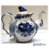 Чайник Голубая Рапсодия (золото)