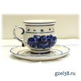 Чайная пара Голубка (1 сорт)