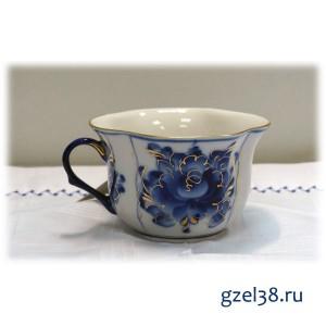 Чашка чайная  золото