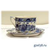 Чайная пара Европейская (золото)
