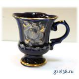 Кофейная чашка Идиллия (глухой кобальт)