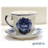 Чайная пара Граненая (1 сорт)