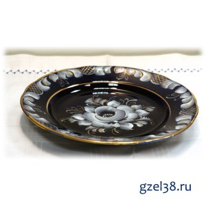 Тарелка Десертная глухой кобальт