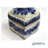 Шкатулка Сердечко (1 сорт)