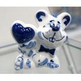 """Скульптура """"Влюбленный мышонок"""""""
