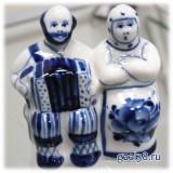 "Скульптура ""Дед и баба"" автор Неплюев"